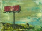 Petra Polli<br><p class='title'>Power Word 6</p>, 2015<br>Acryl auf Leinwand<br> 60 x 80  cm