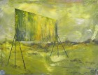 Petra Polli<br><p class='title'>Power Word 7</p>, 2015<br>Acryl auf Leinwand<br> 60 x 80  cm