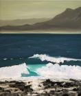 Berthold Bock<br><p class='title'>Mare Nostrum 3</p>, 2015<br>Öl auf Leinwand<br> 70 x 60  cm