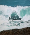 Berthold Bock<br><p class='title'>Mare Nostrum 4</p>, 2015<br>Öl auf Leinwand<br> 70 x 60  cm