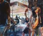 Mirta Domacinovic<br><p class='title'>Dubrovnik</p>, 2015<br>Öl auf Nessel<br> 100 x 120  cm