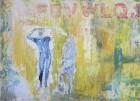 Petra Polli<br><p class='title'>Casting</p>, 2013<br>Acryl auf Leinwand<br> 50 x 70  cm