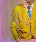 Agnes Lörincz<br><p class='title'>Gelbe Jacke</p>, 2009<br>Öl auf Leinwand<br> 70 x 60  cm