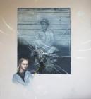 Benedikt Richert<br><p class='title'>Higg's Boson Blues</p>, 2014<br>Öl auf Nessel<br> 180 x 170  cm