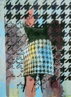 Agnes Lörincz<br><p class='title'>Rock von hinten</p>, 2014<br>Öl, Acryl auf Leinwand<br> 185 x 135  cm