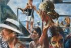 Mirta Domacinovic<br><p class='title'>Vaporetto, Venedig</p>, 2015<br>Öl auf Nessel<br> 100 x 150  cm<br> reserviert